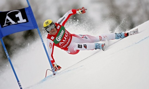Hermann Maier Showing Us How Its Done - He Will Be Missed