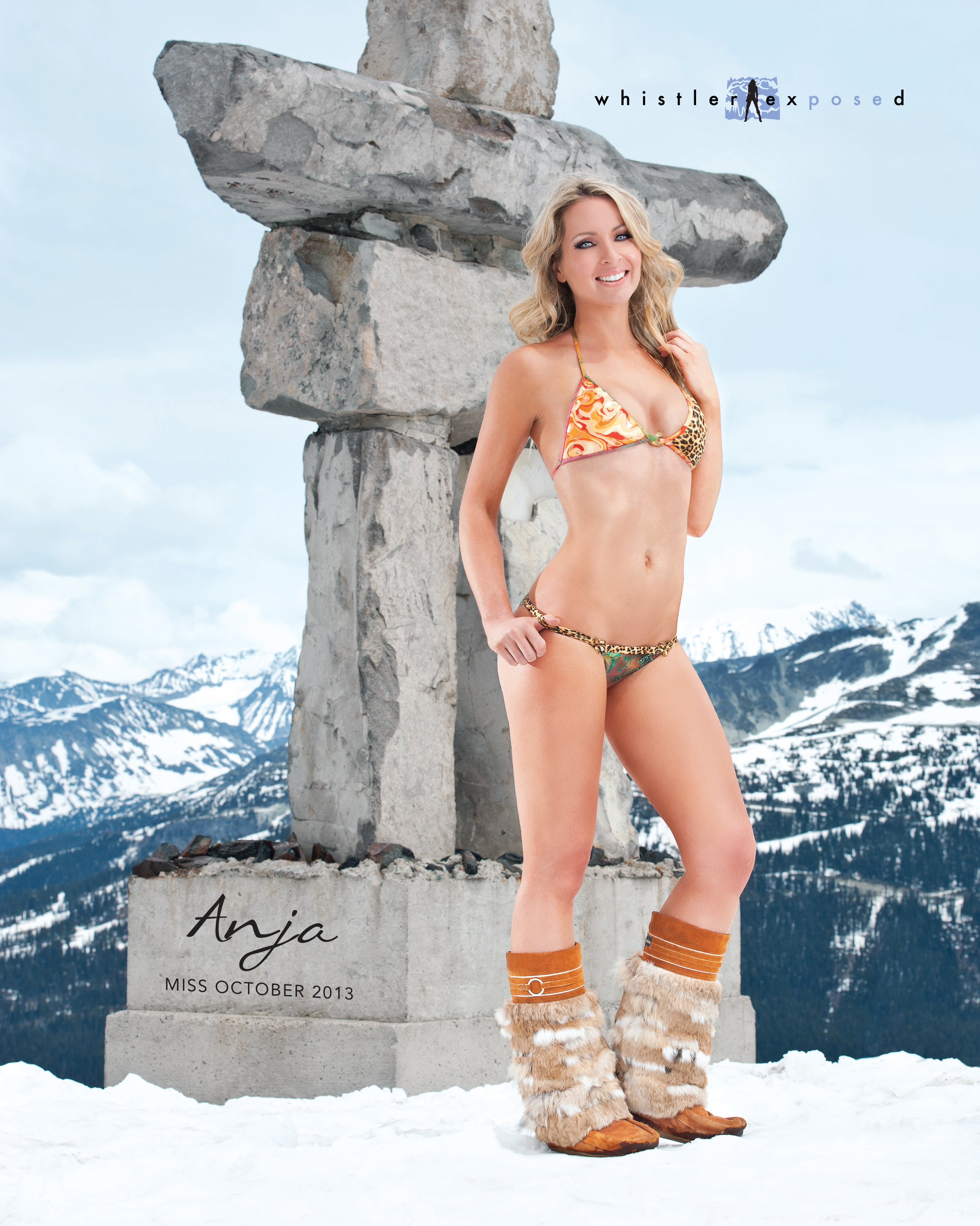 Anja - Miss October 2013 - Whistler Exposed
